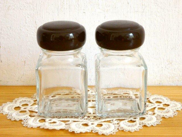 ○●小さなガラス容器 2個セット●○
