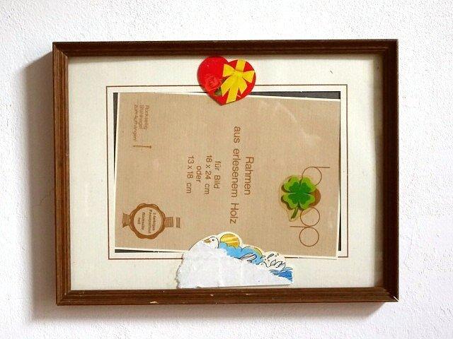 ○●木製フレーム 25cm×19cm●○