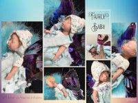 妖精の女の子☆ フルシリコン ミニチュアベビー 17.5cm