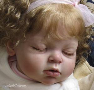 リボーンドール オーダーメイド Reva Schick Arianna Sleeping 29インチ 幼児人形