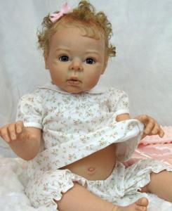 リボーンドール オーダーメイド Adrie Stoete Bo-Elle 28インチ 幼児人形