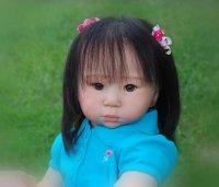 リボーンドール オーダーメイド Adrie Stoete Mei Ling 28インチ 幼児人形