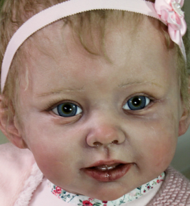 リボーンドール Toddler Bonnie (ボニー) Linda Murray