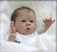 リボーンドール フルボティの女の子Anna(アンナ) Linda Murray