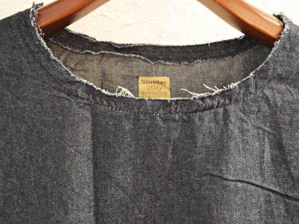 DENIM TEE 【INDIGO】 / SUNDAY WORKS
