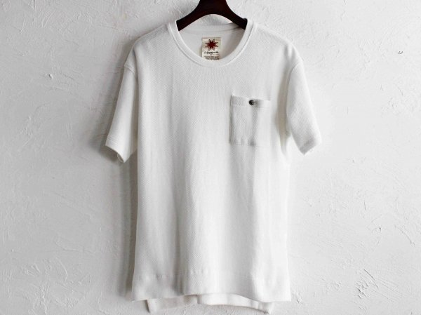 BREEZE TEE 【WHITE】 / Nasngwam. ナスングワム