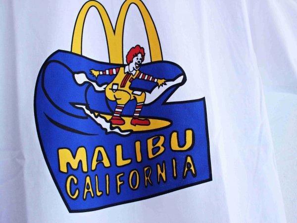 McDonald's MALIBU TEE 【WHITE】 / LEATHER TRAMP SELECT