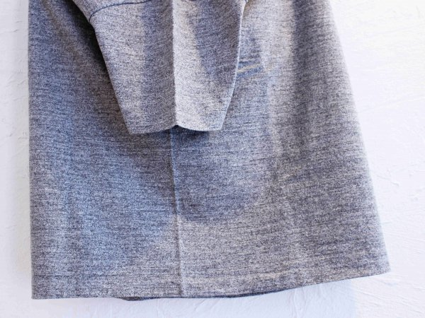 Classic Henley Neck Tee 【H-GRAY】 / August Roots