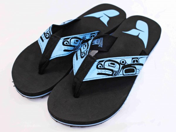 HAIDA FLIP FLOW SANDAL 【Whale】 / LEATHER TRAMP SELECT
