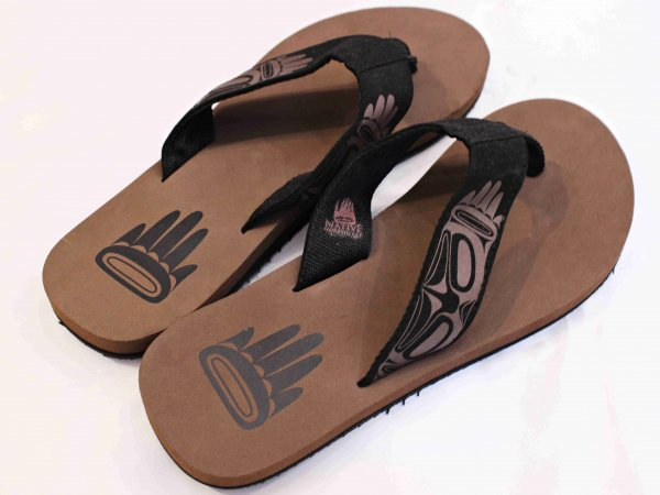 HAIDA FLIP FLOW SANDAL 【Eagle】 / LEATHER TRAMP SELECT