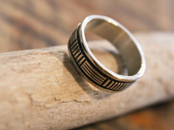 Navajo RING(BRUCE MORGAN ブルースモーガン) / indian jewelry
