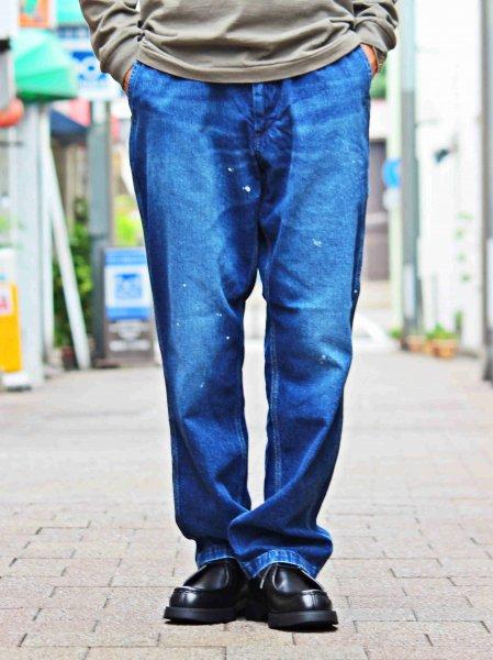 WORK EASY PANTS【USED WASH】 / SPELLBOUND