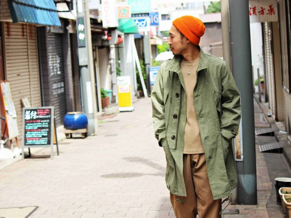 TOPMOST COAT 【OLIVE】 / Nasngwam. ナスングワム