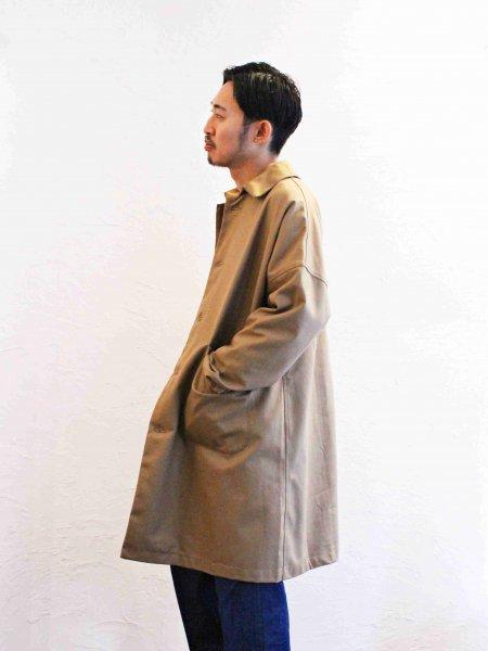 DUSTER COAT 【Chestnut】 / YARMO ヤーモ