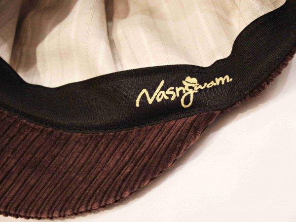 WAITS CAP(CORDUROY) 【BROWN】 / Nasngwam. ナスングワム