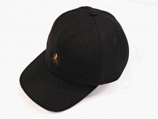 GERONIMO CAP(WOOL) 【BLACK】 / Nasngwam. ナスングワム