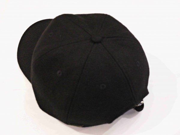 GERONIMO CAP(WOOL) 【BLACK】 / Nasngwam. ナスングワム