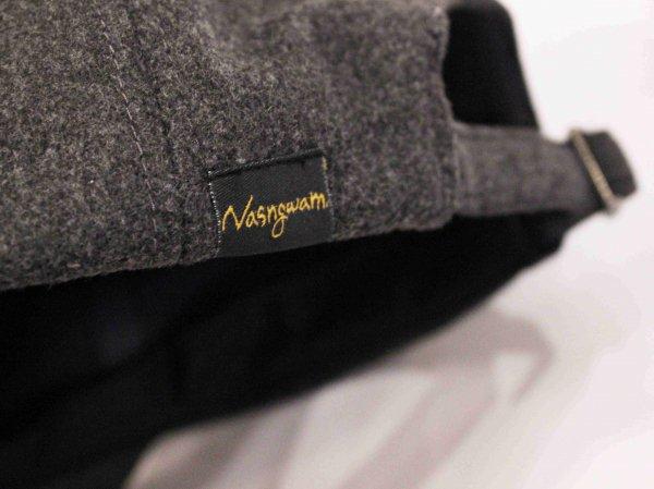 GERONIMO CAP(WOOL) 【CHACOAL】 / Nasngwam. ナスングワム
