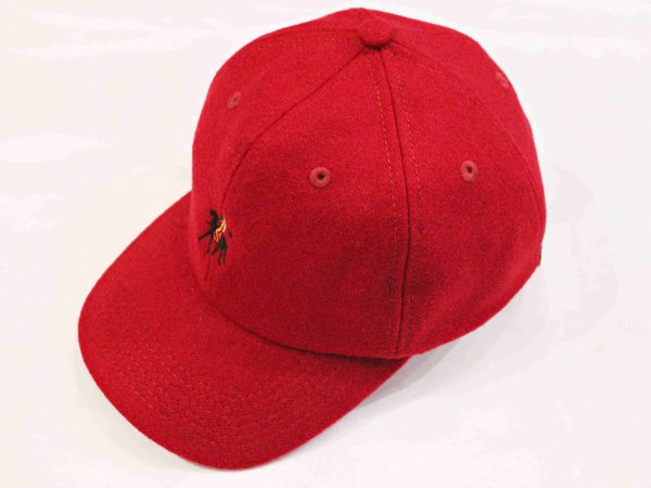 GERONIMO CAP(WOOL) 【BURGUNDY】 / Nasngwam. ナスングワム