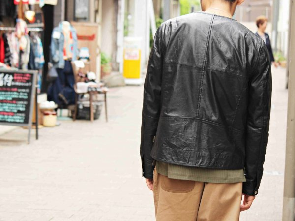 RAMSES LEATHER JK 【BLACK】 / Nasngwam. ナスングワム