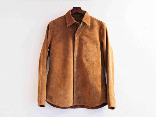 FLIPZIP SUEDE JACKET【BROWN】 / Nasngwam. ナスングワム