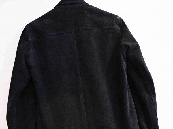 FLIPZIP SUEDE JACKET【BLACK】 / Nasngwam. ナスングワム