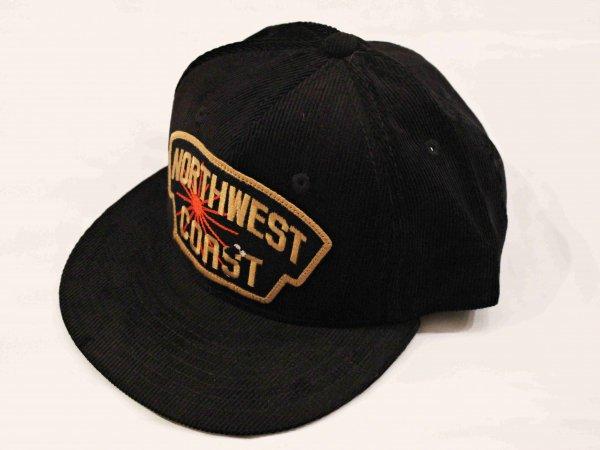 NWC CORDUROY CAP 【BLACK】 / Nasngwam. ナスングワム