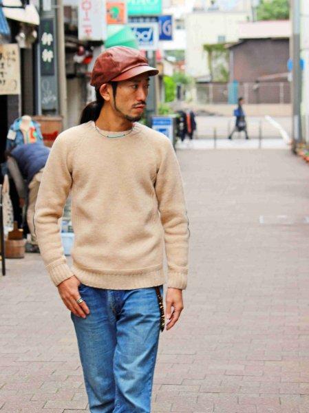LANDNOAH Sweter 【BEIGE】 / soglia