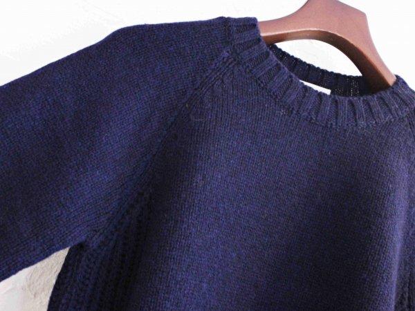 LANDNOAH Sweter 【NAVY】 / soglia