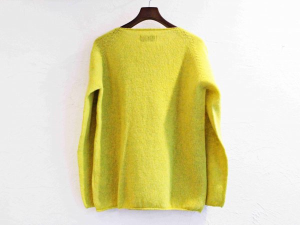 L/S WIDE NECK KNIT 【Pistachio 】 / NOR'EASTERLY