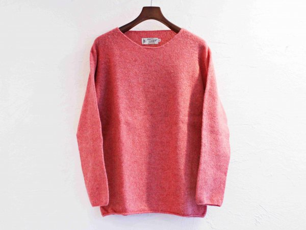 L/S WIDE NECK KNIT 【Rosebud 】 / NOR'EASTERLY