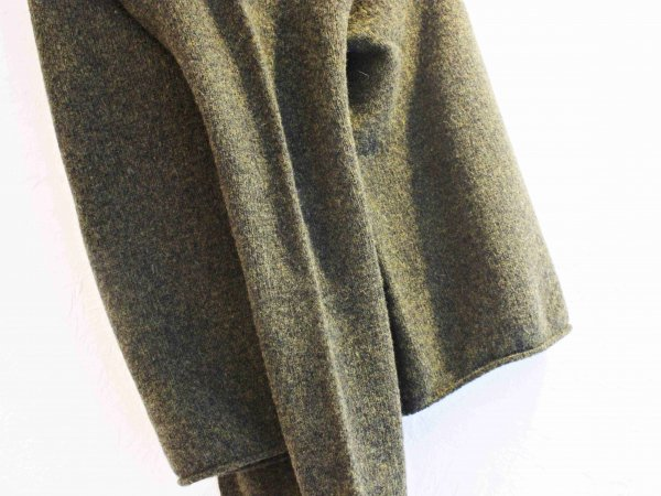 L/S WIDE NECK KNIT 【Pine Shadow 】 / NOR'EASTERLY