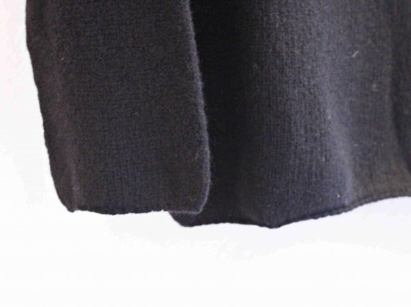 L/S TURTLE NECK KNIT 【Black】 / NOR'EASTERLY
