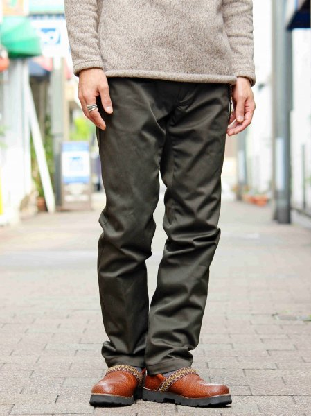 NARROW WORK PANTS 【OLIVE】 / LIFT UP