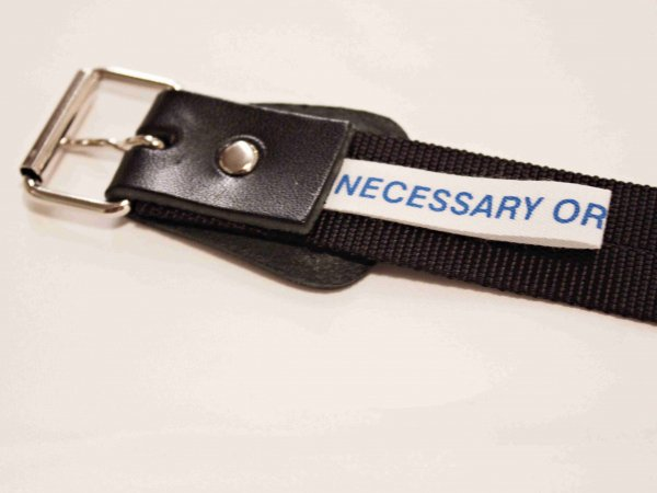 BELT NYLON 【BLACK】 / necessary or unnecessary