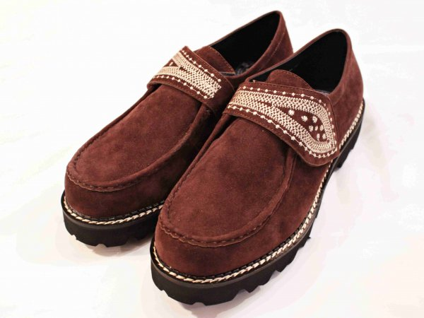 LEAVES SHOES 【BROWN】 / Nasngwam. ナスングワム