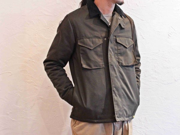 M51-MOD JKT 【DARK-OLIVE】 / LIFT UP
