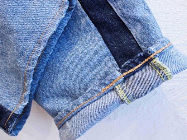 SIDE LINE DENIM PANTS 【BLUE-A】 / SUNNY SIDE UP