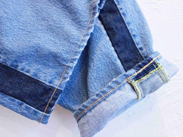 SIDE LINE DENIM PANTS 【BLUE-B】 / SUNNY SIDE UP