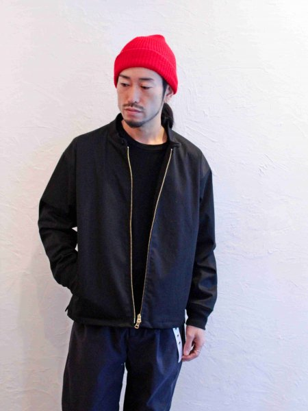 Drizzler jacket 【BLACK】 / LAMOND ラモンド