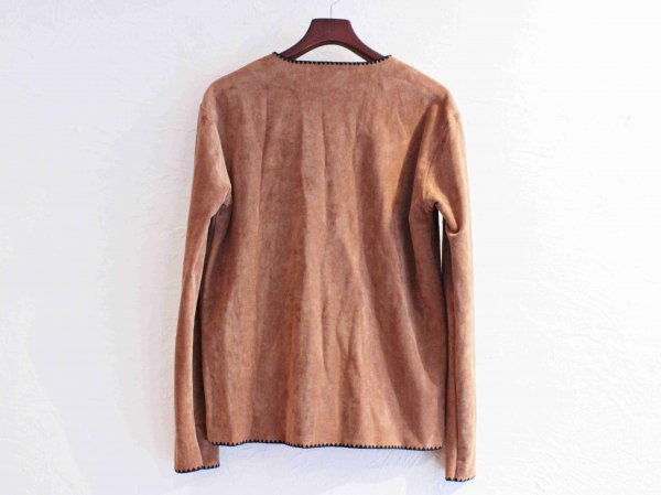 LUCILLE CARDIGAN 【BROWN】 / NASNGWAM