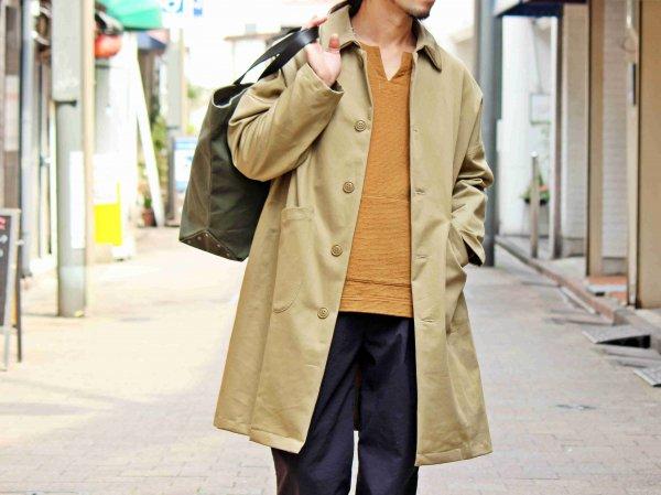 DUSTER COAT 【Beige】 / YARMO