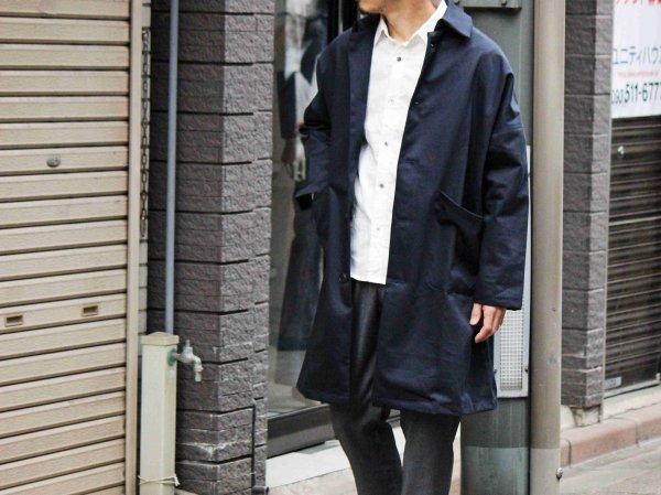 DUSTER COAT 【Navy】 / YARMO