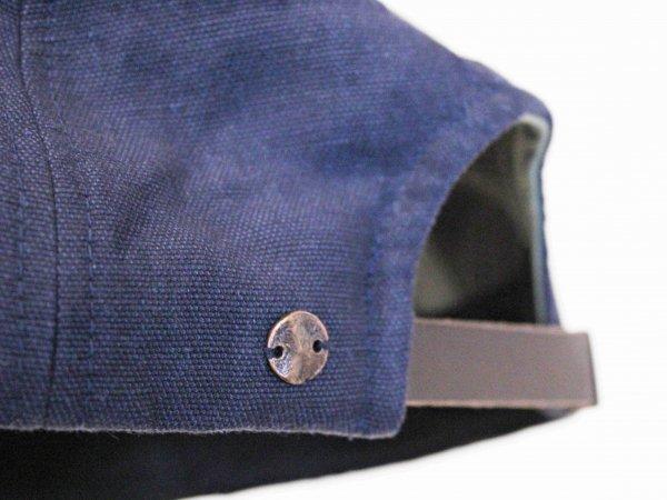 OX Import fabric CAP 【NAVY】 / morno モーノ