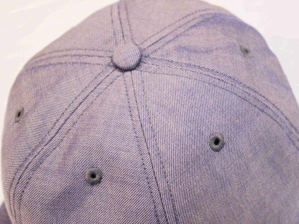 Chambray Import fabric CAP 【BLUE】 / morno モーノ