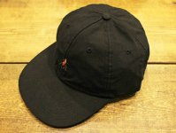 GERONIMO CAP(NYLON) 【BLACK】 / NASNGWAM