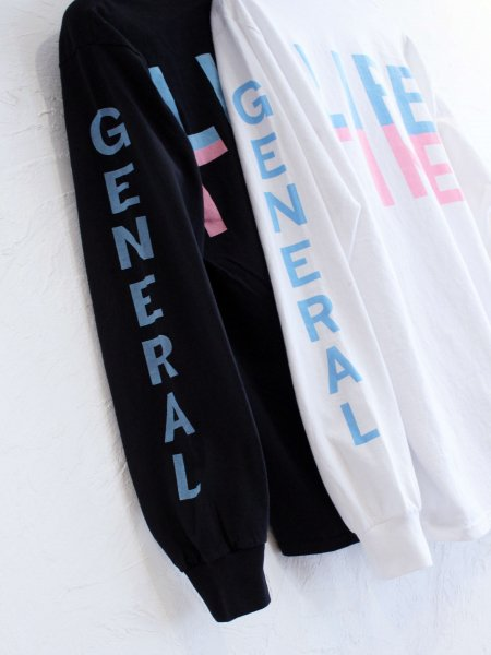 general Long Sleeve Tee 【WHITE】 / FUNG