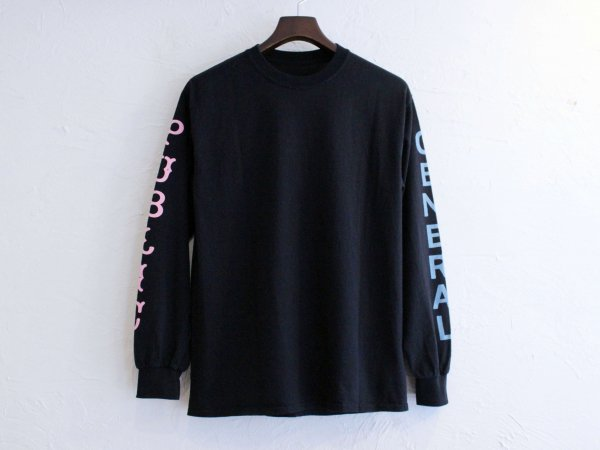 general Long Sleeve Tee 【BLACK】 / FUNG