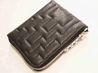 Fenomeno Small Zip Wallet(Maze) 【Black】 / Tsunai Haiya