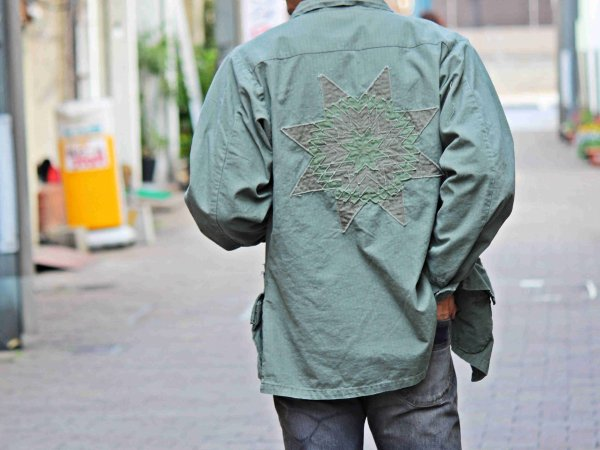 JF MORNING STAR JACKET 【ARMY】 / NASNGWAM